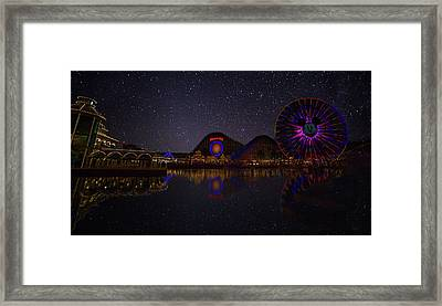 One Of Those Nights Framed Print by Gilbert Gilbert