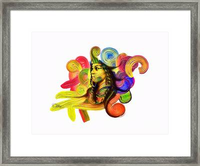 One Part 1 Framed Print by Mo T