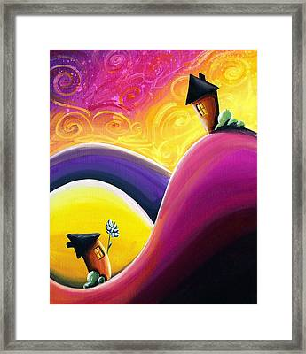 One Song Framed Print by Cindy Thornton