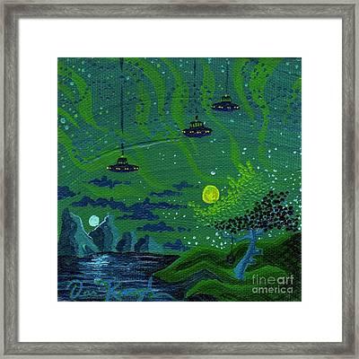 One Strange Night Framed Print by Dan Keough