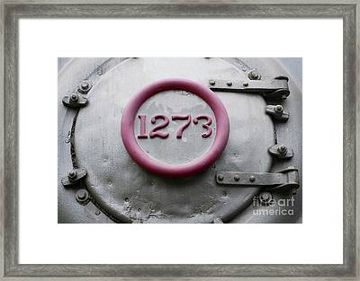 One Two Seven Three Framed Print by Dan Holm