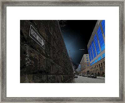 One Way Or Another Framed Print by Joe Hickson