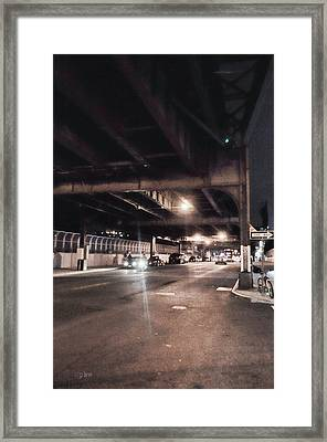 One Way Framed Print by Paulette B Wright
