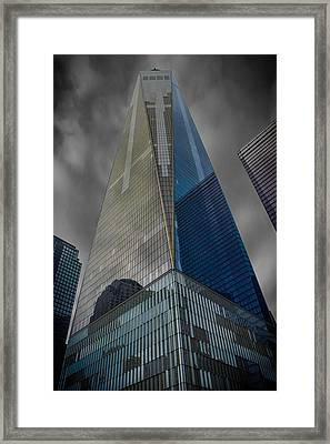 One World Observatory Ny Framed Print by Martin Newman