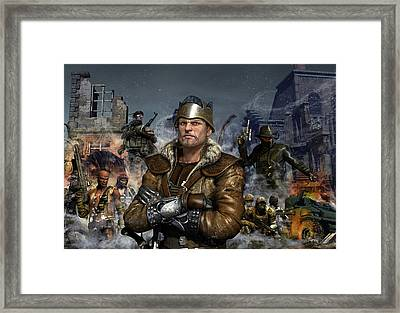 One World One King Framed Print by Kurt Miller