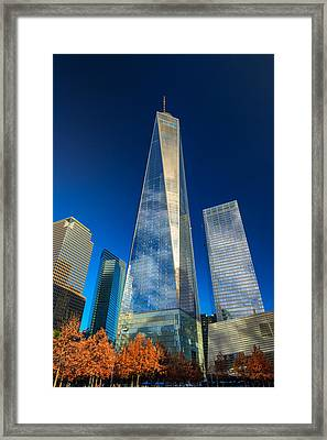 One World Trade Center Framed Print by Rick Berk