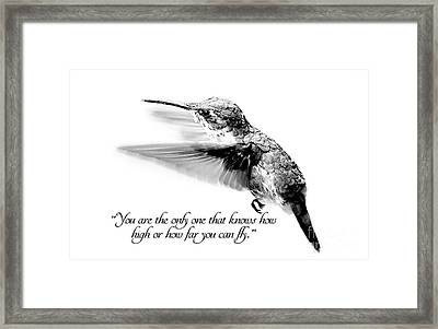 Only You Framed Print by Darren Fisher
