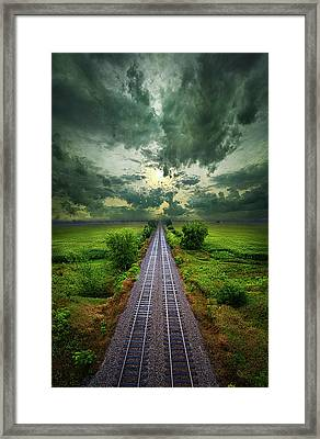 Onward Framed Print by Phil Koch