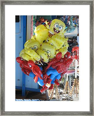 Oooo Pick Me Pick Me Framed Print by Kelly Mezzapelle