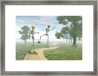 Ooops   Framed Print by Carol and Mike Werner