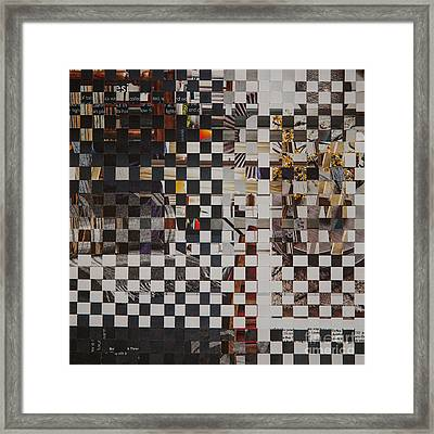 Op Art 101 Framed Print by Jan Bickerton
