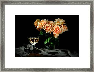 Open At Midnight Framed Print by Diana Angstadt