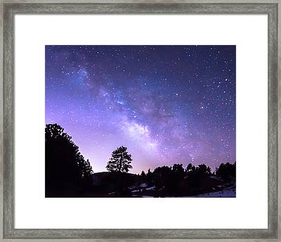 Open Door To The Galaxy Framed Print by James BO Insogna