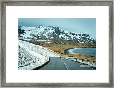 Open Road Framed Print by Svetlana Sewell