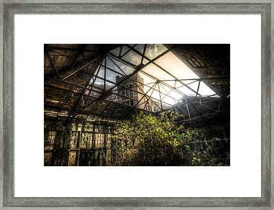 Open Top Framed Print by Nathan Wright