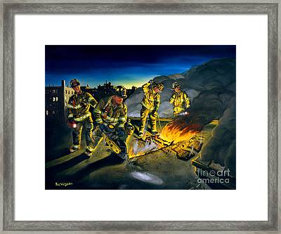 Opening Up Framed Print by Paul Walsh