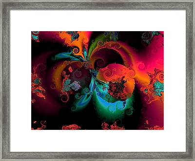 Opposit Parties Framed Print by Claude McCoy