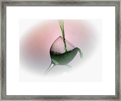 Opps Framed Print by Arnie Goldstein