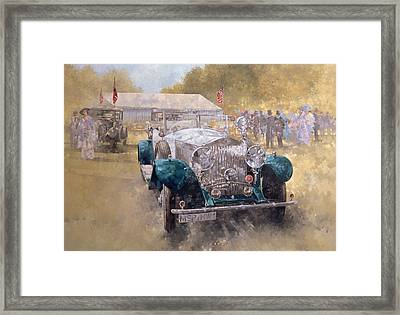 Opulence At Althorp Framed Print by Peter Miller