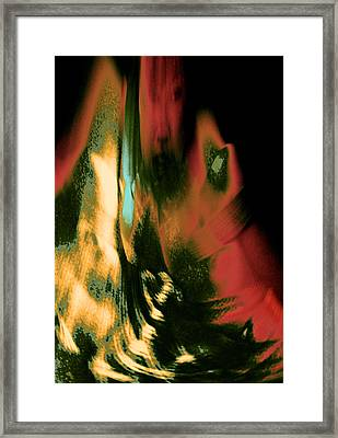 Or This Because Your Moralized Persona Reflects Equal Rationalized Indulgence 2015 Framed Print by James Warren
