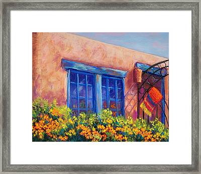 Orange Berries Framed Print by Candy Mayer