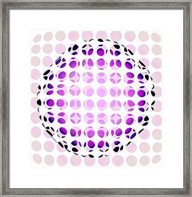 Orb Framed Print by Francois Domain