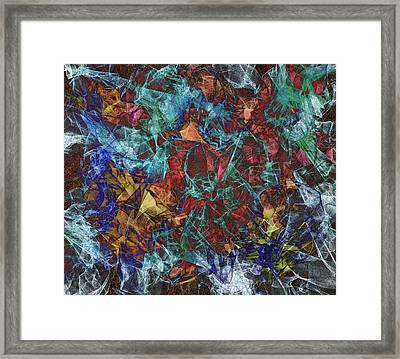 Order In Chaos Framed Print by Marv Vandehey