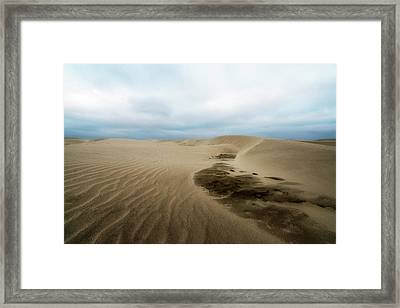 Oregon Dune Wasteland 1 Framed Print by Ryan Manuel