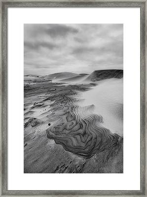 Oregon Dune Wasteland 2 Framed Print by Ryan Manuel