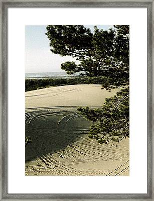 Oregon Dunes 3 Framed Print by Eike Kistenmacher