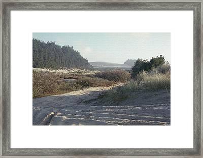 Oregon Dunes 5 Framed Print by Eike Kistenmacher