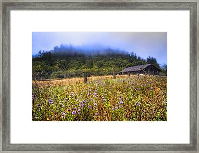 Oregon Scenery Framed Print by Debra and Dave Vanderlaan