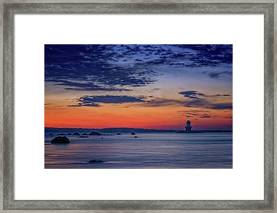 Orient Point, Ny Framed Print by Rick Berk