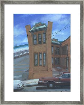 Oriental Avenue Framed Print by Suzn Smith