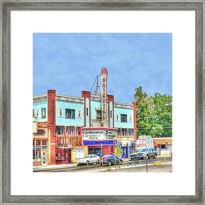 Oriental Theatre Framed Print by Juli Scalzi