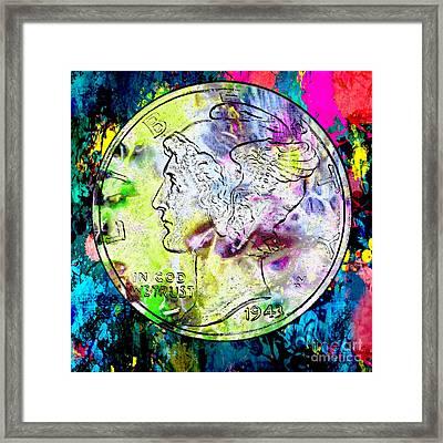 Orin Swift Mercury Dime Framed Print by Jon Neidert