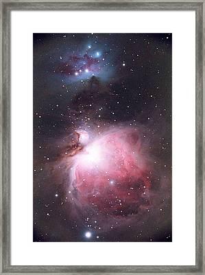 Orion Nebula Framed Print by Chris Madeley