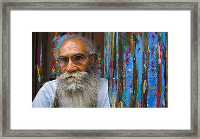 Painted Framed Print featuring the photograph Orizaba Painter by Skip Hunt