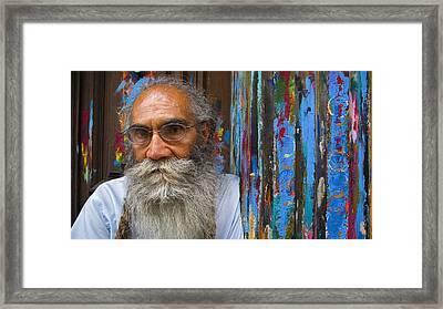 Orizaba Painter Framed Print by Skip Hunt