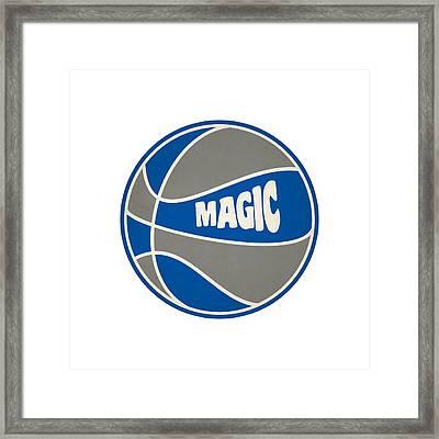 Orlando Magic Retro Shirt Framed Print by Joe Hamilton