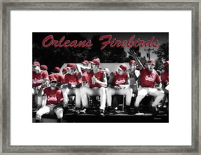 Orleans Firebirds Baseball Team Framed Print by Dapixara Art