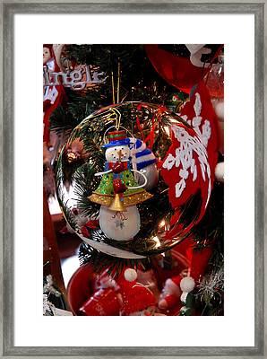 Ornament 1 Framed Print by Joyce StJames