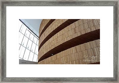 Oslo Opera Framed Print by Geoff Sadler Designs