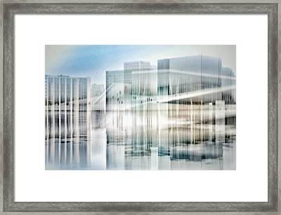 Oslo Opera House Framed Print by Kathleen Alhaug