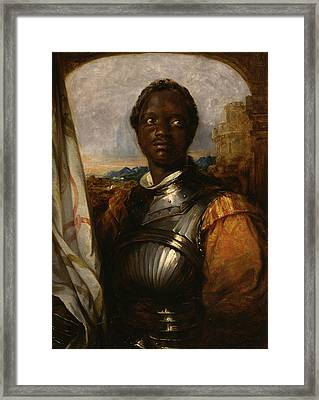 Othello Framed Print by William Mulready
