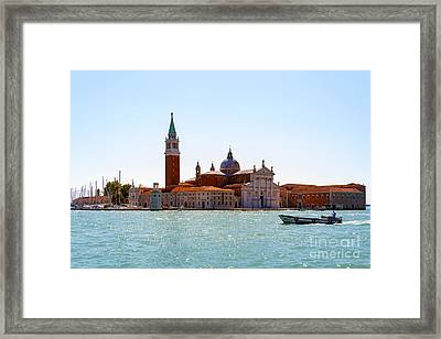 Other Side Of A Canal  Framed Print by Svetlana Sewell