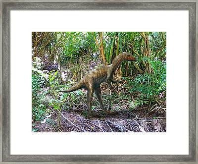 Othiniela In The Forest Framed Print by Frank Wilson