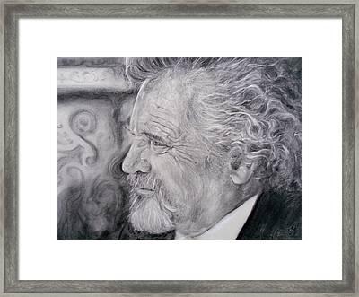 Otto Rapp # 3 Framed Print by Adrienne Martino