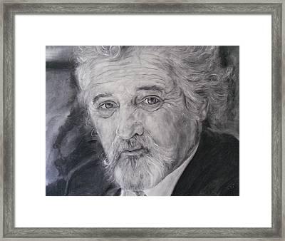 Otto Rapp #2 Framed Print by Adrienne Martino