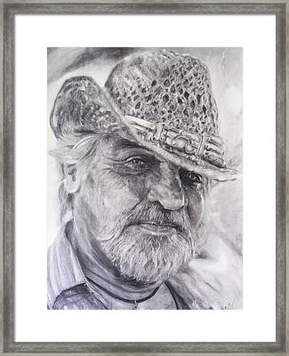 Otto Rapp Framed Print by Adrienne Martino